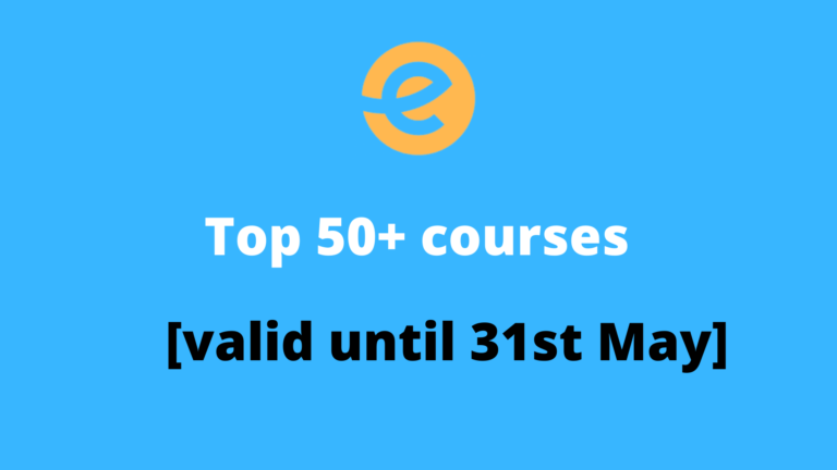 Top 50+ courses under ₹   300 [ valid until 31st May  ]